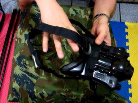 Kit armamento - Carabina de pressão e Eye Clops de visão noturna