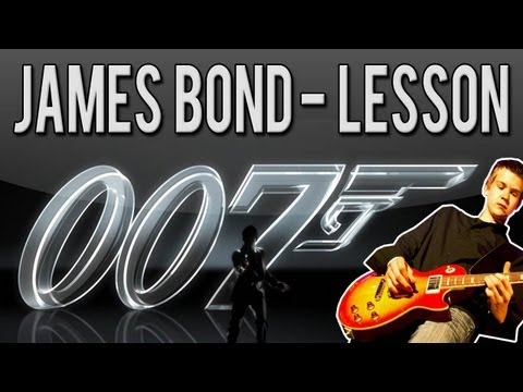 Guitar guitar tabs 007 theme song : James Bond Theme Song Guitar Lesson (Easy) - With Tabs! on YOUZEEK.com