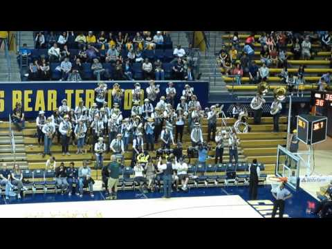 Cal Straw Hat Band @ Cal vs. Washington Women's Basketball 2015 Haas Pavilion Berkeley California