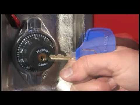 1695MKADA Built-In Combo Lock Opening w/Key - Training