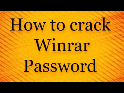 How To Break WinRar Password Easily