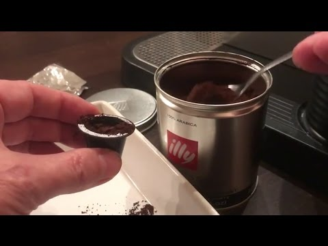 How to refill Nespresso coffee Pods in 2 minutes  - Reusable Capsules - Save Money!