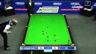 Marco Fu - Neil Robertson (Final) Snooker Australian Goldfields Open
