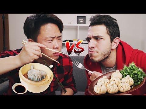 КОРЕЙСКАЯ Еда vs ГРУЗИНСКАЯ Еда w/ Irakli G (видео)