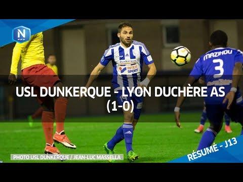 RÉSUMÉ VIDÉO NATIONAL | DUNKERQUE - LYON DUCHÈRE (1-0)