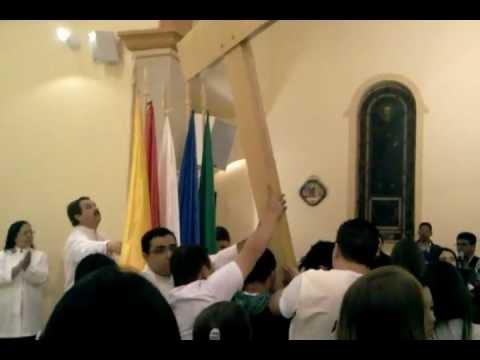 Chegada da Réplica da cruz  em Guapiara por Marco CravoChegada
