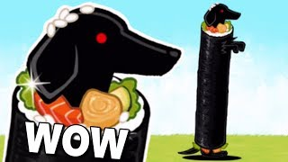 That is one LONG DOG! (Battle Cats)