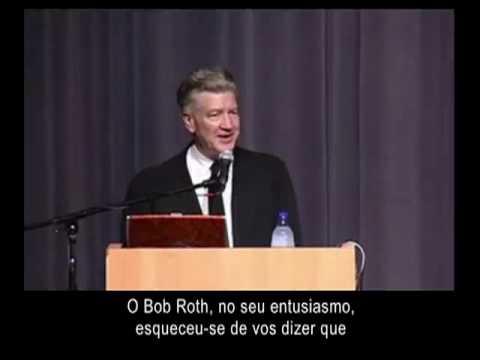 David Lynch na Universidade de Berkeley, Califórnia. Efeitos da meditação no cérebro