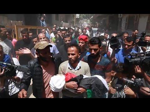 Gaza: Kleinkind stirbt bei Protesten gegen Israel