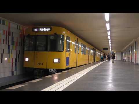 U-Bahn Berlin - Linie U6 | Berlin Underground - Line U6
