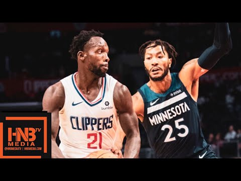 LA Clippers vs Minnesota Timberwolves Full Game Highlights | 03.10.2018, NBA Preseason - Thời lượng: 9:44.