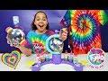 TYBO Design Studio! DIY TIE DYE SHIRTS | Toys AndMe