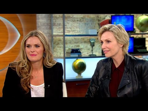 """Jane Lynch, Maggie Lawson on new CBS comedy """"Angel from Hell"""""""