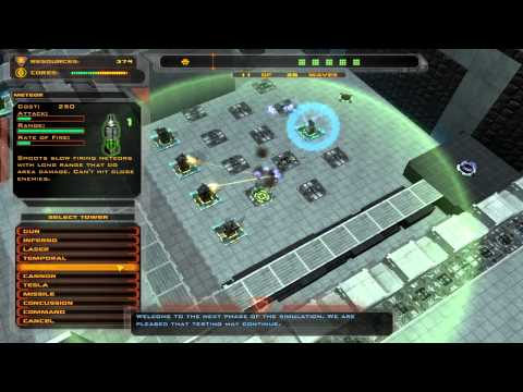 tower defense - Defense Grid: The Awakening is the best Tower Defense game. This is the Portal 2 inspired level. Vitensby explains how to play the game and level in this Pil...