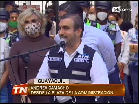 ATM entregó a Guayaquil 80 scotters para control de tránsito en zona céntrica