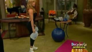 Ejercicios de Claudia para los glúteos Fitness Video