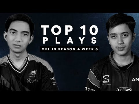 MPL Indonesia Top 10 Plays Week 6 | Kido & Celiboy MANIAC! WATT SAVAGEEEE!!