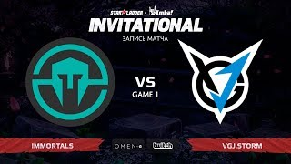 Immortals против VGJ.Storm, Первая карта, SL i-League Invitational S5 Qualifier