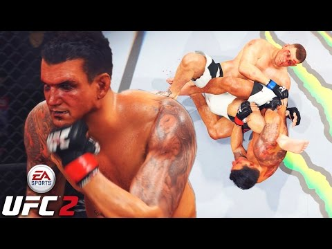 Frank Mir Has Slow Hands! Tap Or Else! EA Sports UFC 2 Online Gameplay