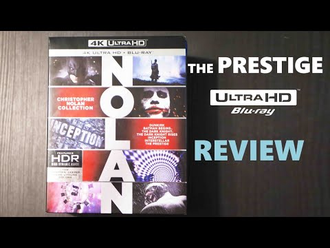 The Prestige 4K Bluray Review | Christopher Nolan 4K Collection