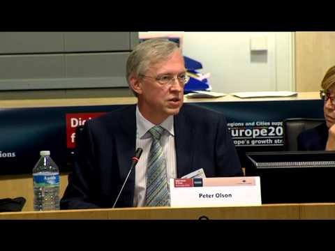 Watch 'Peter Olson at the Committee of the Regions, A Digital Agenda for Europe (02/07/13)'