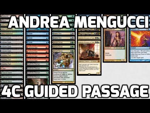 Channel Mengucci  - Legacy 4c Guided Passage (Deck Tech & Match 1)