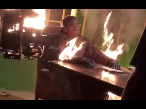 Gunna Lights Himself On Fire At Young Thug Hot Video Shoot