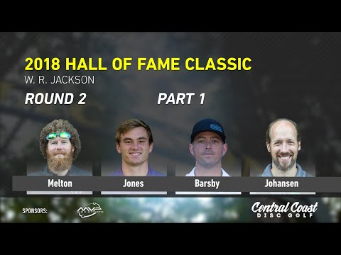 2018 Hall Of Fame Classic - Round 2 Part 1 - Melton, Jones, Barsby, Johansen