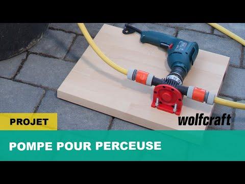 Comment transvaser rapidement de l'eau avec une perceuse - Pompe pour perceuse | wolfcraft