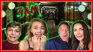 Video 3AM ON THE MOST HAUNTED SHIP IN AMERICA! | EP 1 | We Are The Davises MP3, 3GP, MP4, WEBM, AVI, FLV Maret 2019