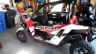 9. 2015 Arctic Cat trail limited