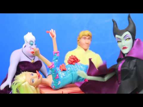 little mermaid - AllToyCollector Play-Doh BARBIE Frozen Maleficent Ursula The Little Mermaid Disney Princess Barbie Parody HOT DOG EATING CONTEST COMPETITION. Kristoff, Anna, Toby, Amber, and Annabell go to...