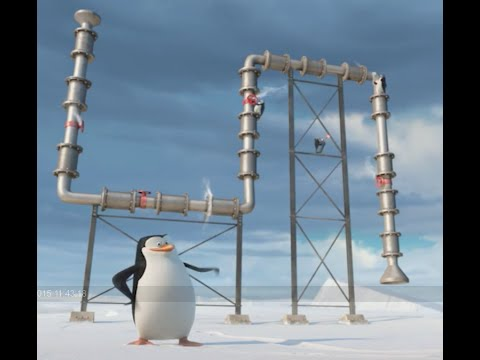Penguins show us the Pipeline of Dreamworks Animation Studios (CC Español).
