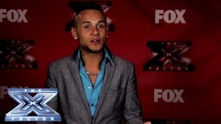 Yes, I Made It! Jorge Peña - THE X FACTOR USA 2013