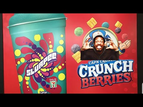 On 7-11 Tried the new #CrunchBerry #Slurpee from #7Eleven