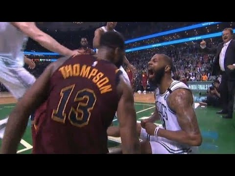 J. R. SMITH YOU DIRTY BUM! CELTICS DEFEAT CAVALIERS 107-94, TAKE 2-0 SERIES LEAD!
