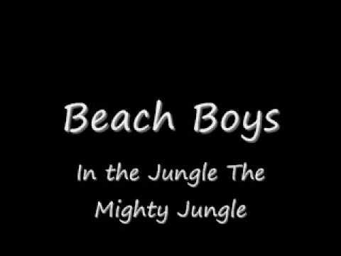 The Beach Boys-In the Jungle