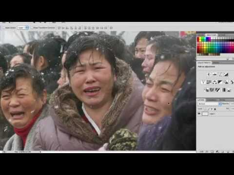 North Korean Photoshop Tutorial