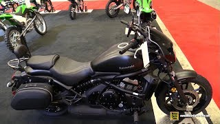 5. 2018 Kawasaki Vulcan S ABS Accessorized High Seat - Walkaround - 2018 Montreal Motorcycle Show