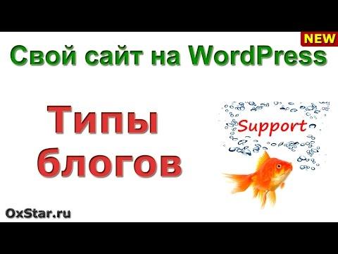 ТИПЫ БЛОГОВ - Какие бывают блоги ТИПЫ БЛОГОВ - Основы сайтостроения - DomaVideo.Ru