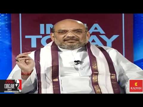 Shri Amit Shah at India Today Conclave 2017 - 17 March 2017