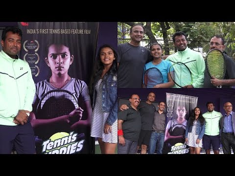 Unveiling Of The Promo Of India's First Tennis Based Film Tennis Buddies