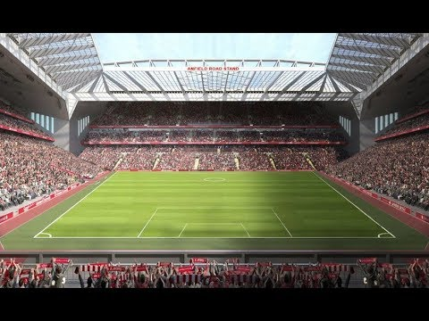 STUNNING ANFIELD STADIUM EXPANSION | 61,000 CAPACITY WITH ANFIED ROAD END EXPANSION | LIVERPOOL NEWS