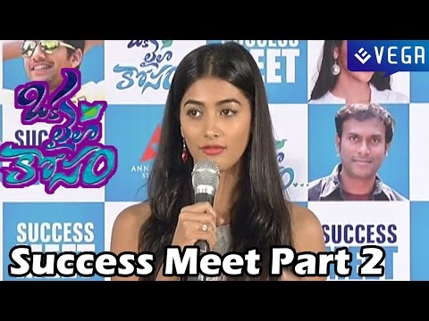 Oka Laila Kosam Movie Success Meet Part 2 - Naga Chaitanya, Pooja Hedge - Latest Telugu Movie 2014