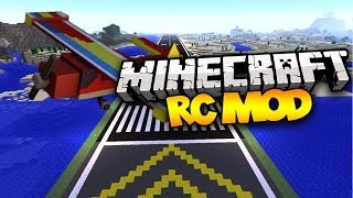 Minecraft: RC MOD! (Remote Controlled Planes!) | Mod Showcase