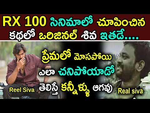 He Is The Original Siva In RX 100 Movie || Celebrity News Updates || Jilebi