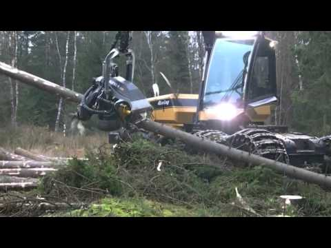 This Tree Cutting Machine Is Monstrous