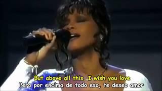 WHITNEY HOUSTON - I WILL ALWAYS LOVE YOU - Subtitulos Español & Inglés