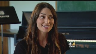 Sara Bareilles Excited For First Musical 'Waitress' At American Repertory Theater