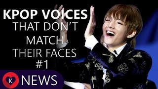 Video KPOP VOICES THAT DON'T MATCH THEIR FACES #1 MP3, 3GP, MP4, WEBM, AVI, FLV April 2018